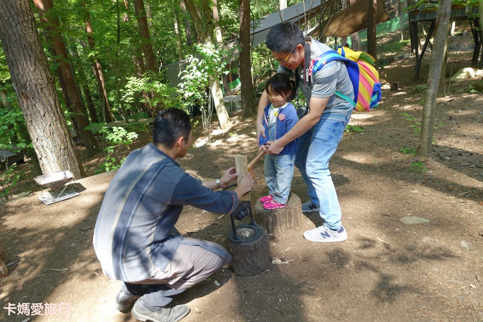 [河口湖] 夏季二訪星野富士 – 園區砍柴活動、Dining Hall早餐、森林早午茶分享
