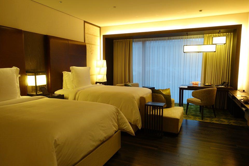 [京都] 四季酒店 Four Seasons Hotel Kyoto – 豪華雙床房 Deluxe twin、早餐介紹