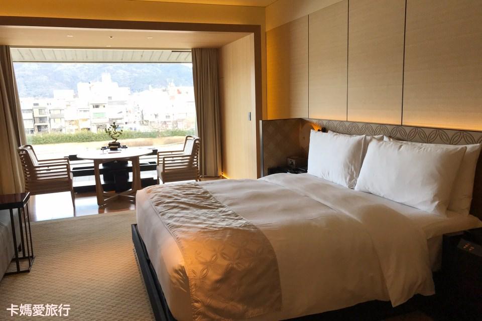 [京都] Ritz Carlton Kyoto 麗思卡爾頓飯店 – 鴨川畔河景奢華雙人房型、Pierre Hermé下午茶、和服租借體驗