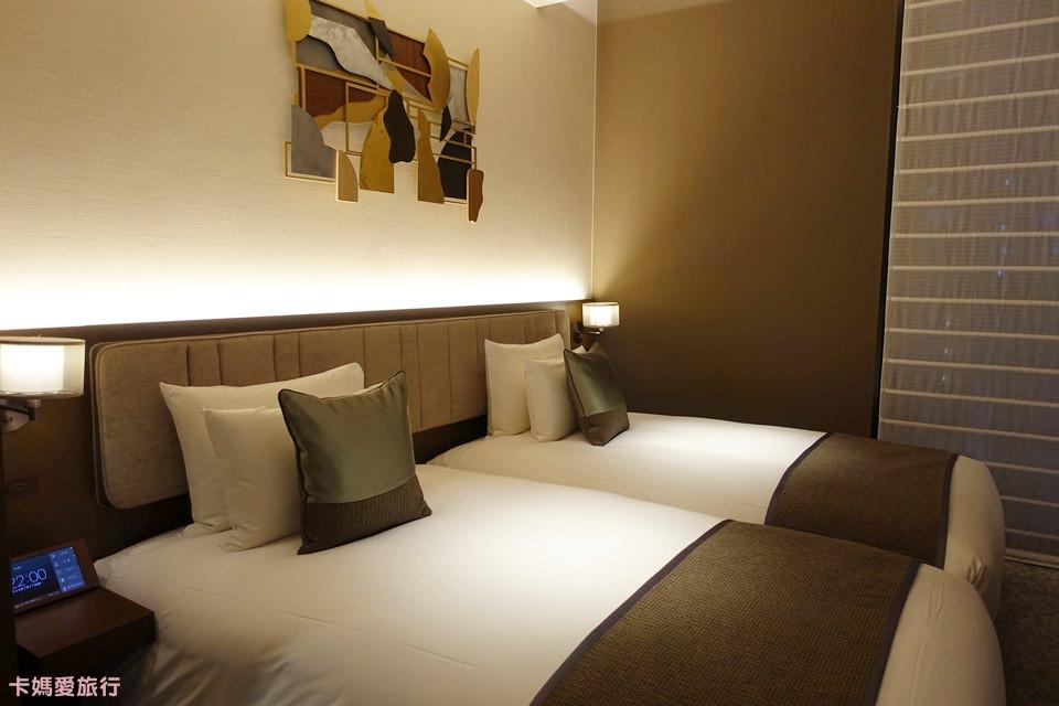 [東京] 銀座 The Celestine Ginza Hotel – Superior twin room房型、早餐分享