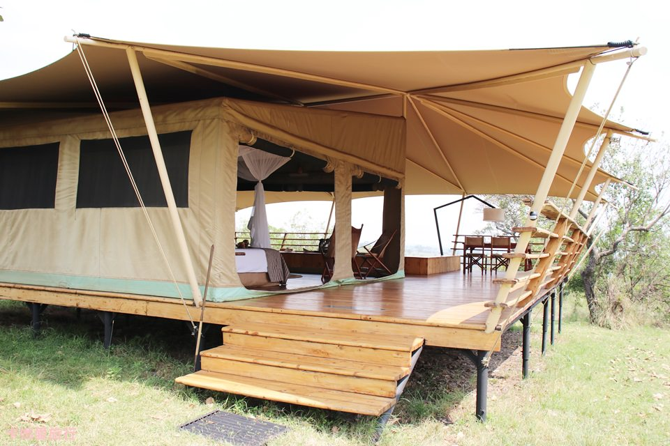 [坦尚尼亞] Tanzania Serengeti Bushtops Camp 叢林中的豪華帳篷 – 房間內部、早餐介紹