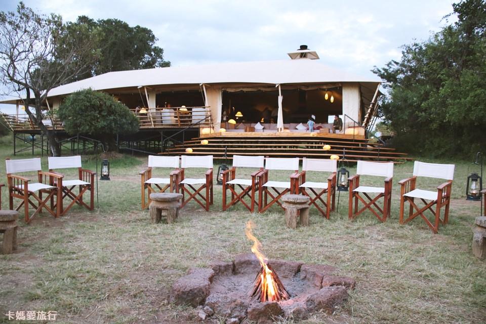 [坦尚尼亞] Tanzania Serengeti Bushtops Camp 叢林中的豪華帳篷 晚餐介紹、公共設施